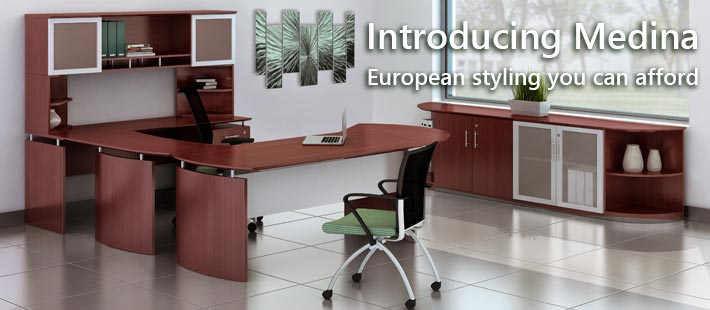 Medina European Style Laminate Office Furniture