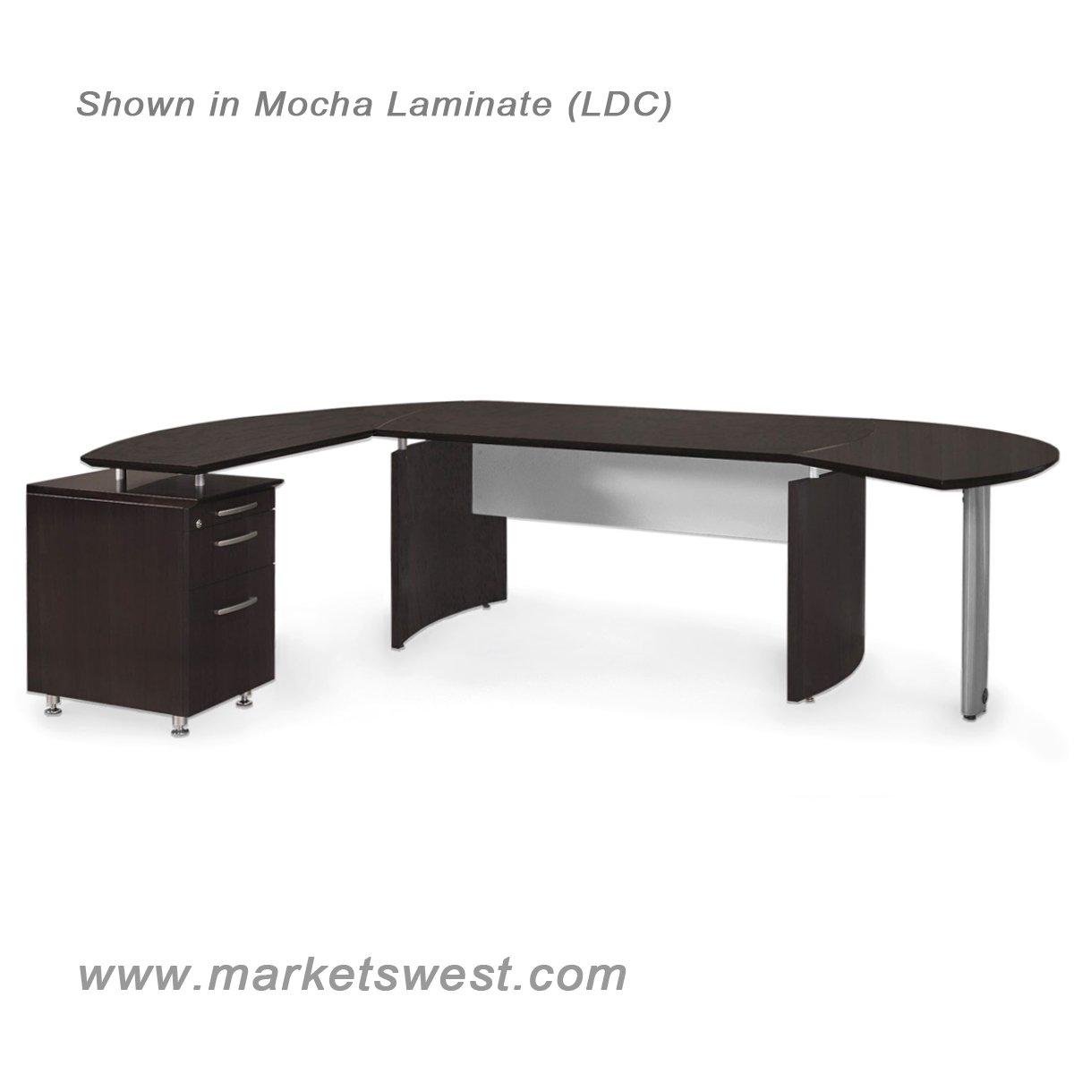 Medina Series 63 Quot Executive L Shaped Desk Suite 2 Left
