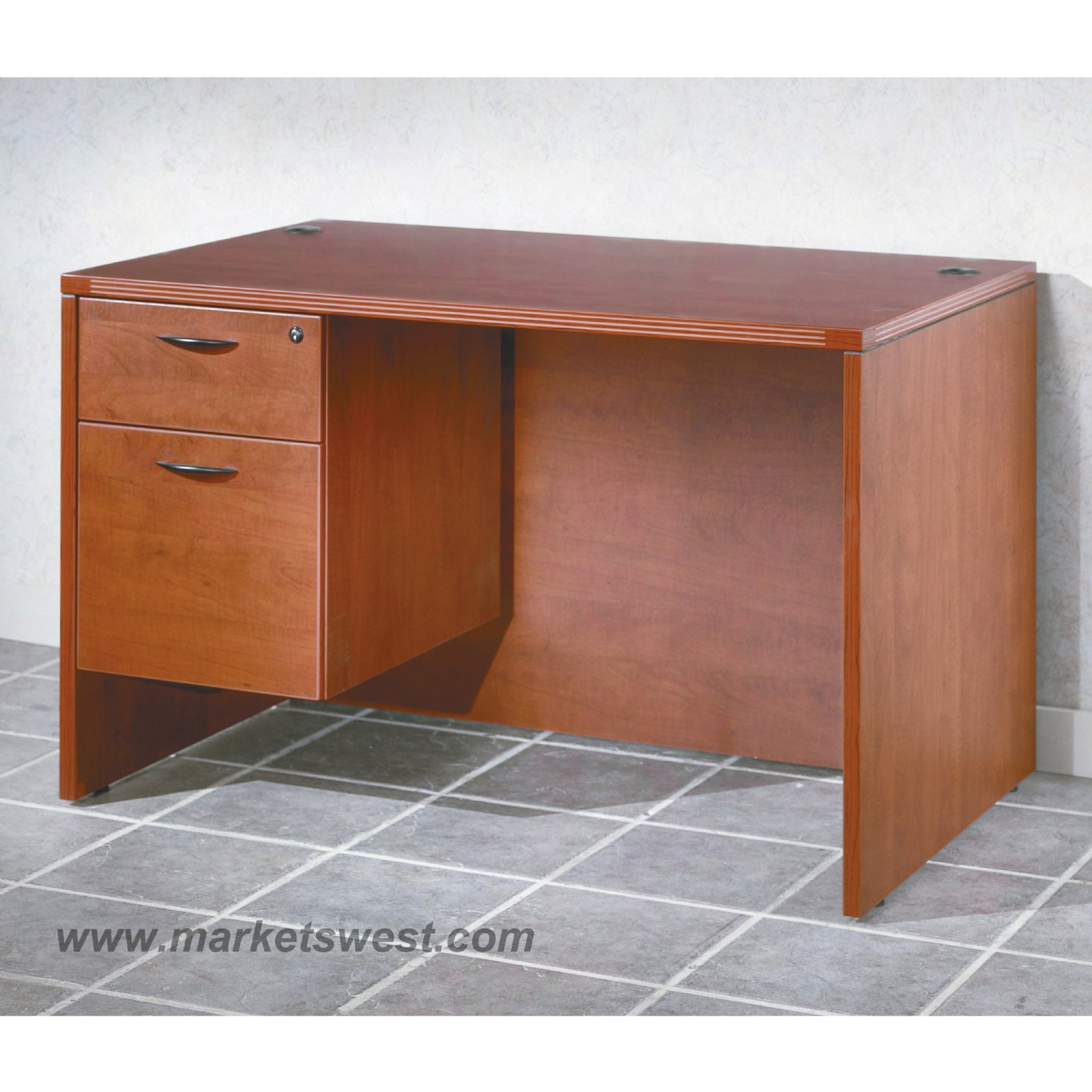 single on right hon material harvest laminate pedestal wood side desk x products finish
