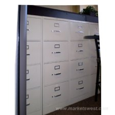 4-Drawer HON Vertic...