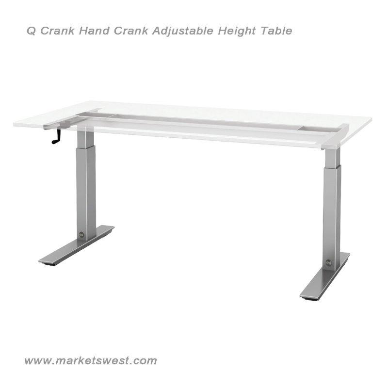 Esi Q Crank Adjustable Height Table Hand Crank